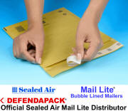 View & Buy Mail Lite Gold Bubble Mailers